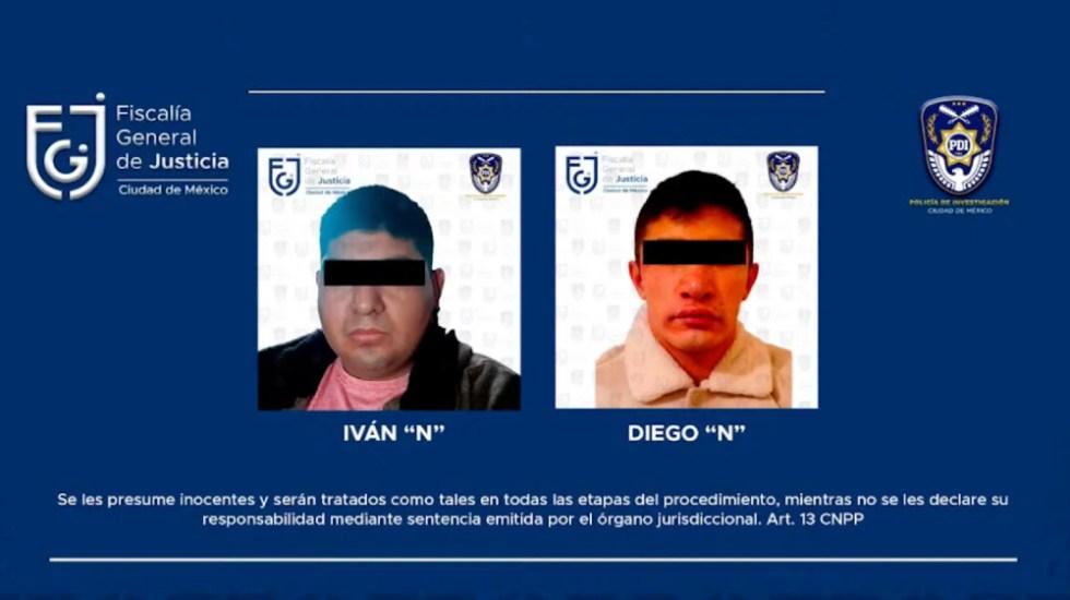 Detenidos dos sujetos por desaparición de jóvenes en Azcapotzalco - Detenidos desaparición jóvenes Azcapotzalco Barquito