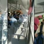 #Video Serpiente a bordo de camión en Escobedo desata pánico