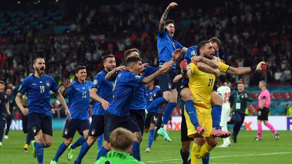 Italia, campeón de la Euro 2020 - Foto de EFE/EPA/Laurence Griffiths.