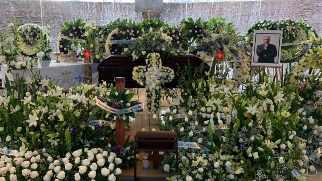 Realizan misa en memoria de René Juárez Cisneros - Realizan misa en memoria de René Juárez Cisneros. Foto de Milenio