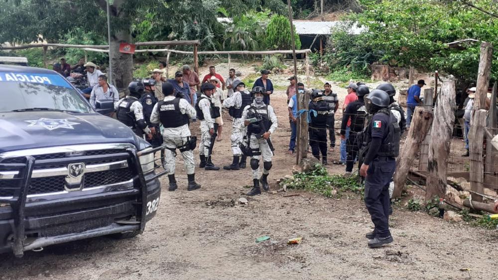Autoridades realizan acciones de seguridad en sierra de Zihuatanejo, Guerrero - Guerrero Zihuatanejo recorridos