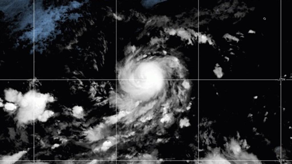 Felicia evoluciona a huracán categoría I lejos de las costas mexicanas - Huracán Felicia en el Pacífico. Foto de NOAA / GOES