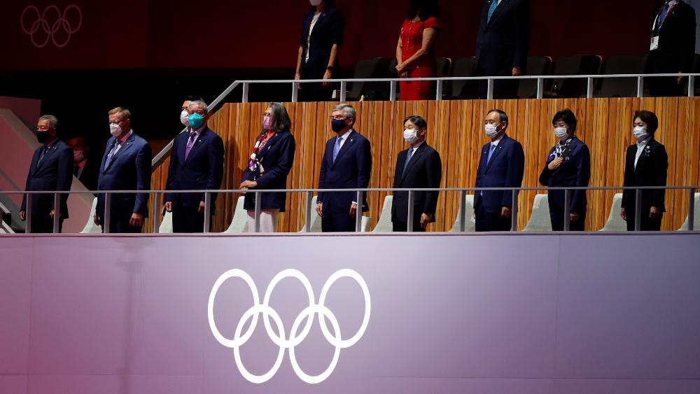 Inauguración Tokio 2020 minuto silencio