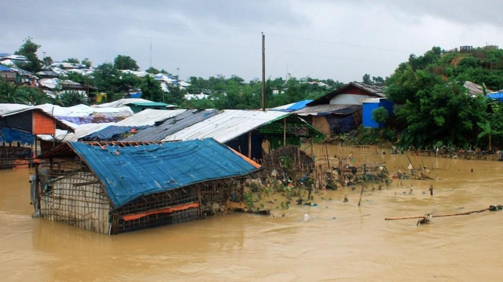 Inundaciones en Bangladesh dejan al menos 21 muertos - Inundaciones en Bangladesh dejan al menos 21 muertos. Foto de EFE