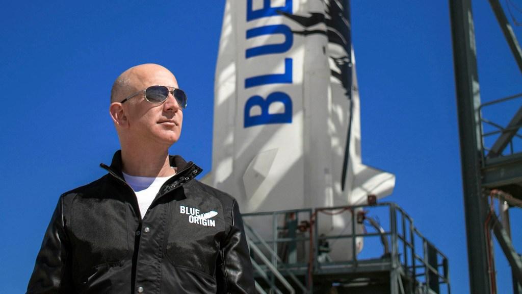 #Video Jeff Bezos llega al espacio en cohete de su compañía Blue Origin - Jeff Bezos. Foto de EFE