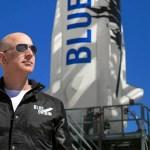 #Video Jeff Bezos llega al espacio en cohete de su compañía Blue Origin