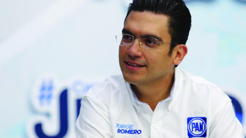 Jorge Romero será coordinador de la bancada del PAN en San Lázaro - Jorge Romero Herrera será el próximo coordinador de la bancada del PAN en San Lázaro. Foto de Twitter Jorge Romero Herrera