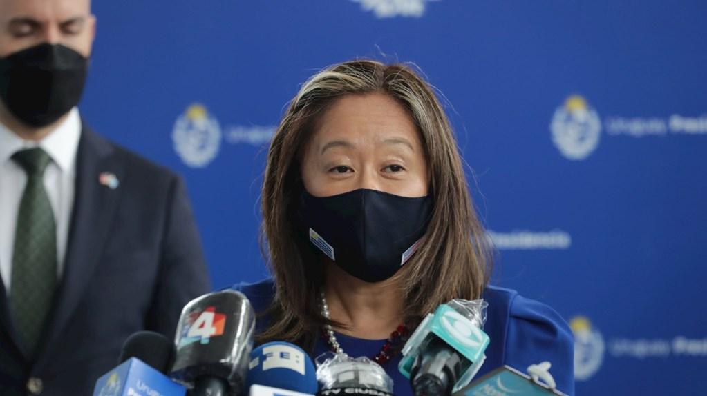 En la imagen, Julie Chung, la subsecretaria de Estado interina de la Oficina de Asuntos del Hemisferio Occidental de EE.UU., Foto de EFE/ Raúl Martínez/ Archivo.