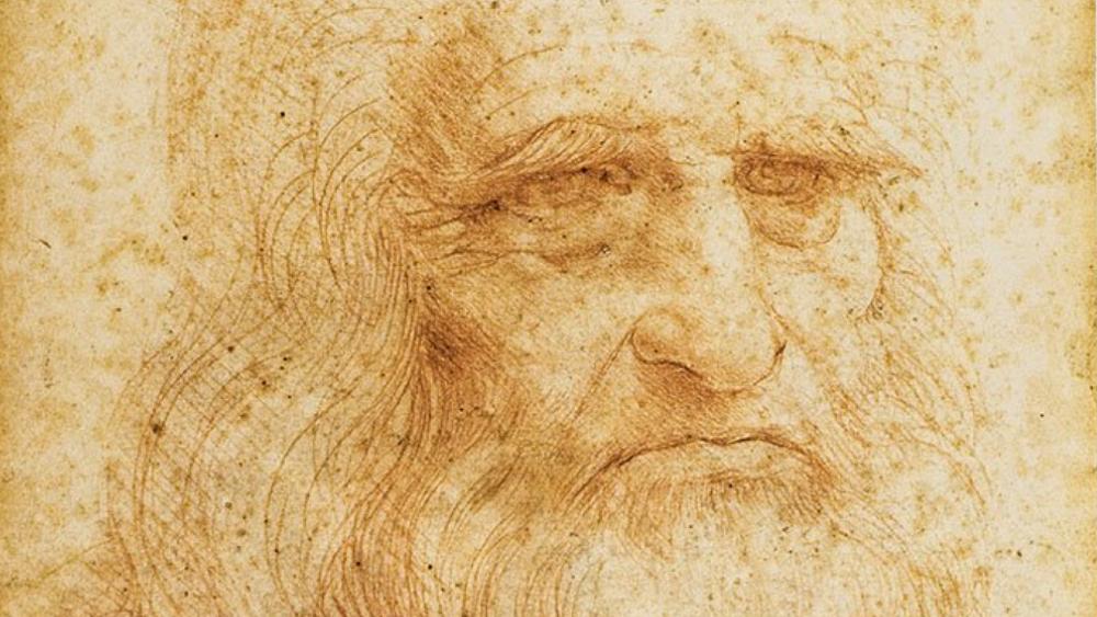 Leonardo Da Vinci tiene hoy 14 descendientes masculinos vivos - Leonardo Da Vinci retrato
