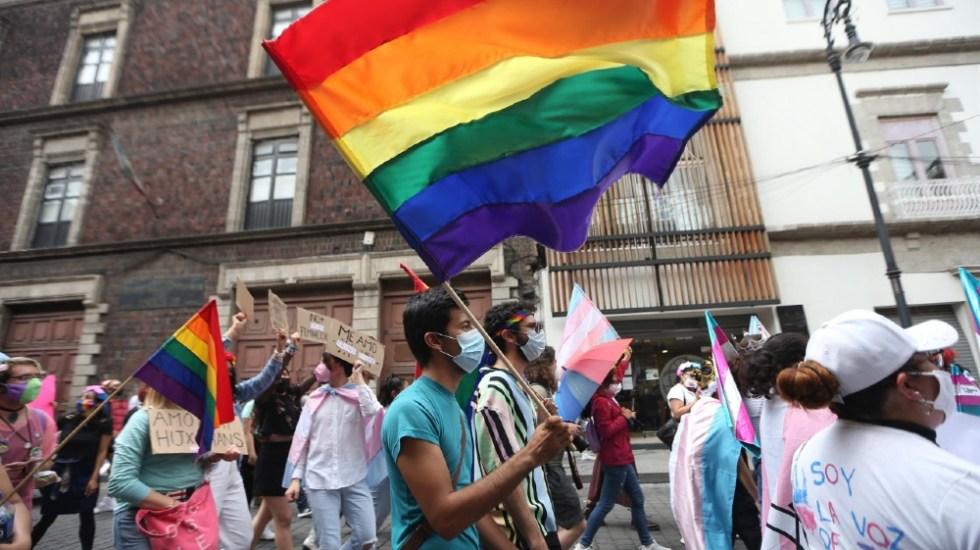Marchan por los derechos de la comunidad LGBT en Ciudad de México - marcha LGBT CDMX