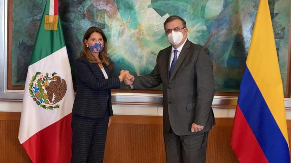 Vicepresidenta de Colombia defiende a OEA ante propuesta de AMLO de reemplazarla - Marta Lucía Ramírez Marcelo Ebrard OEA