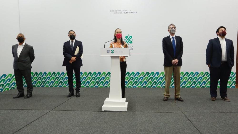 Martí Batres llega a la Secretaría de Gobierno de la Ciudad de México - Martí Batres Claudia Sheinbaum CDMX