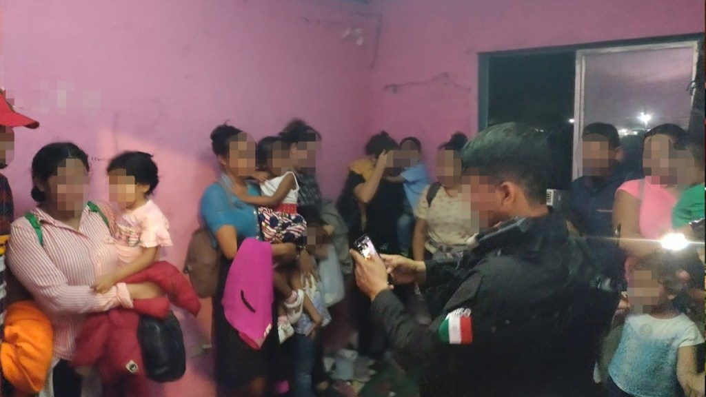 Rescatan a 50 migrantes, entre ellos 18 menores, en Tamaulipas. Foto de Gobierno de Tamaulipas
