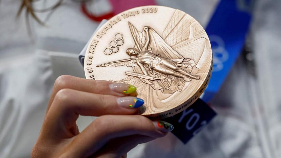 Tokio 2020: México cierra peor cosecha de medallas desde Atlanta 1996 - Olimpiadas Juegos Olímpicos Tokio medalla Bronce México