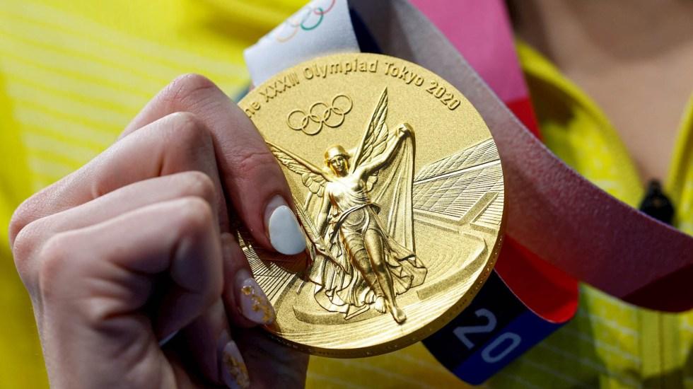 Conade reduce beca a atletas que no lograron medalla en Tokio 2020; recorte es de hasta 80 % - Olimpiadas Juegos Olímpicos Tokio medalla Oro