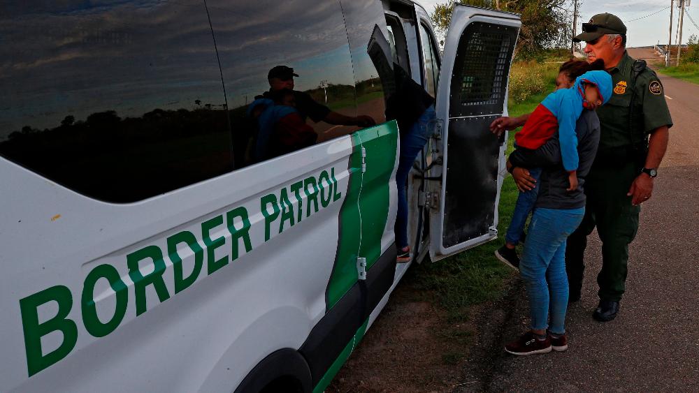 Patrulla Fronteriza EEUU migrantes