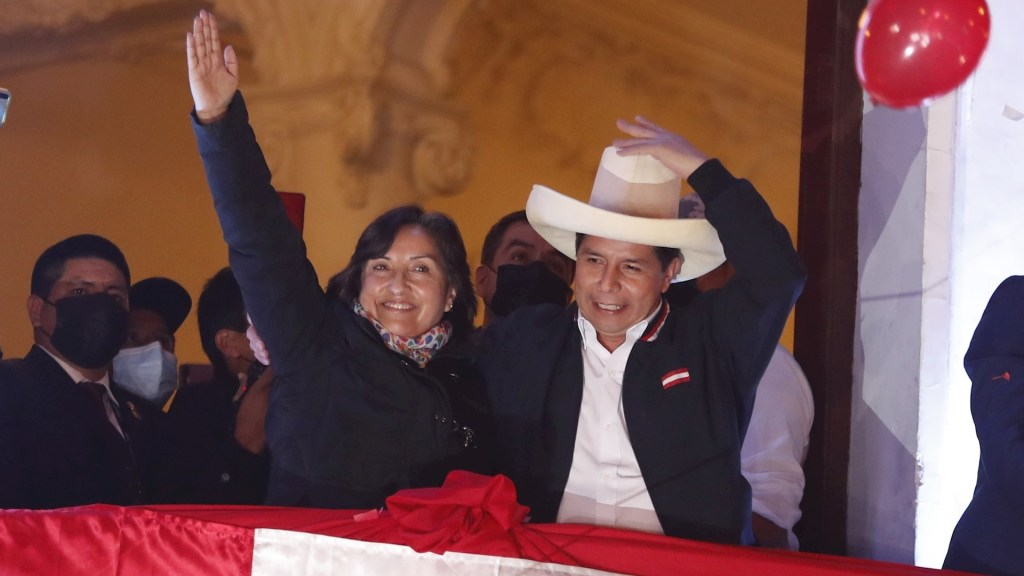 Proclaman a Pedro Castillo como presidente electo de Perú - Pedro Castillo Perú presidente