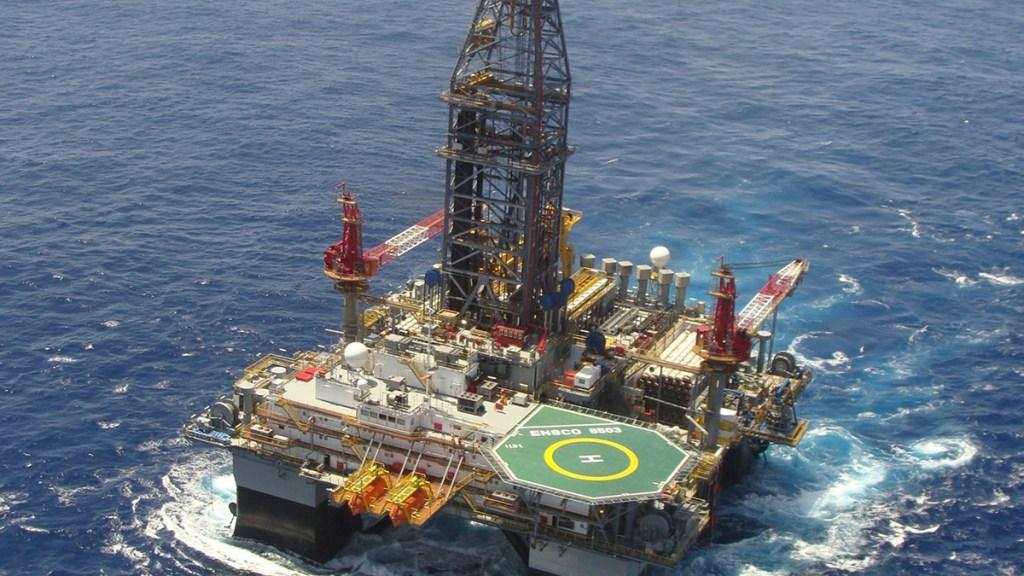 Compañía italiana halla nuevo yacimiento de petróleo en México - Plataforma marina. Foto de Talos Energy Offshore / David Duncan Photography