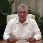 """Presidente de Cuba llama a partidarios a """"combatir"""" protestas"""