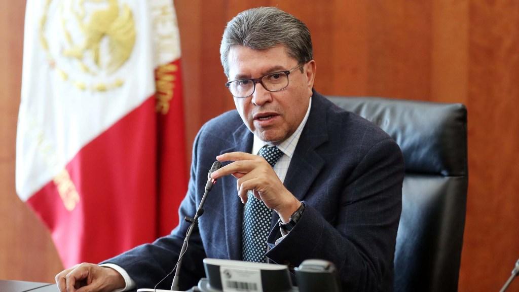 Monreal exige respeto a Encinas tras reproche por desafuero del diputado Saúl Huerta - Senador Ricardo Monreal
