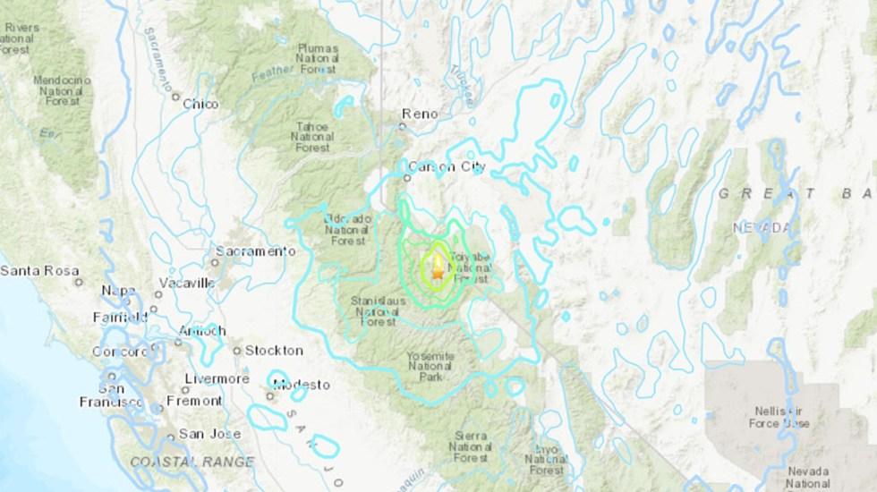 Sismo magnitud 6 sacude el centro de California con múltiples réplicas - Sismo en California. Foto de USGS