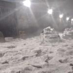 Murió hombre de hipotermia atrapado en Tlalnepantla tras lluvias