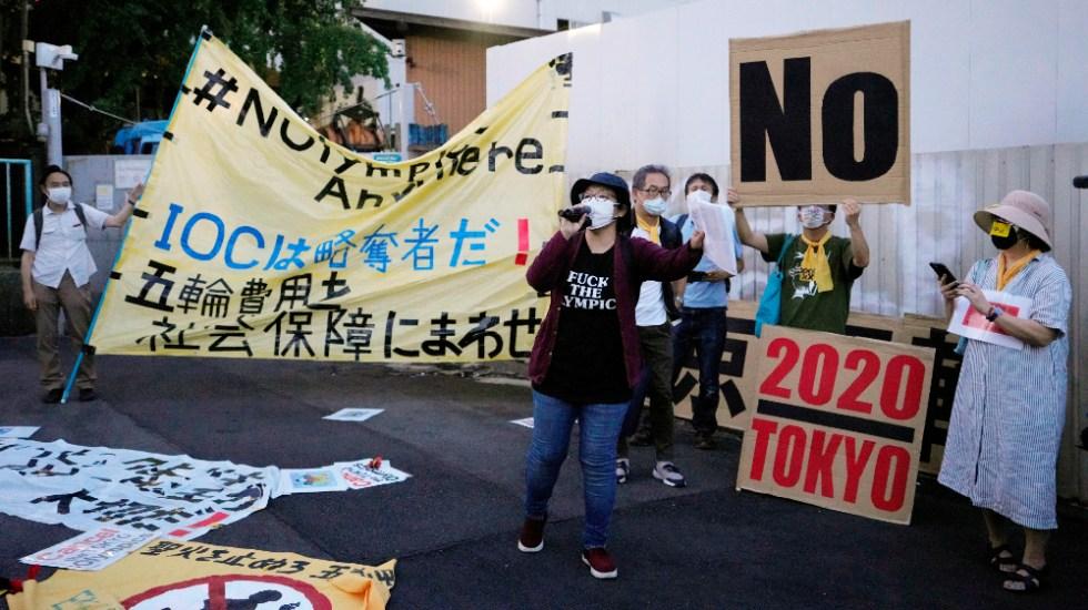Inquietud y protestas en Japón a una semana de los Juegos Olímpicos - Tokio 2020 protestas Juegos Olímpicos