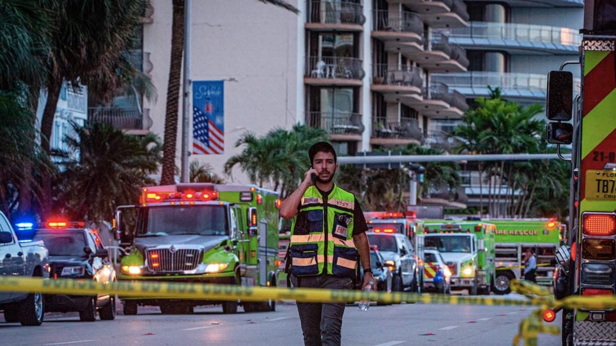Desalojan por grietas otro edificio de departamentos en playa de Florida