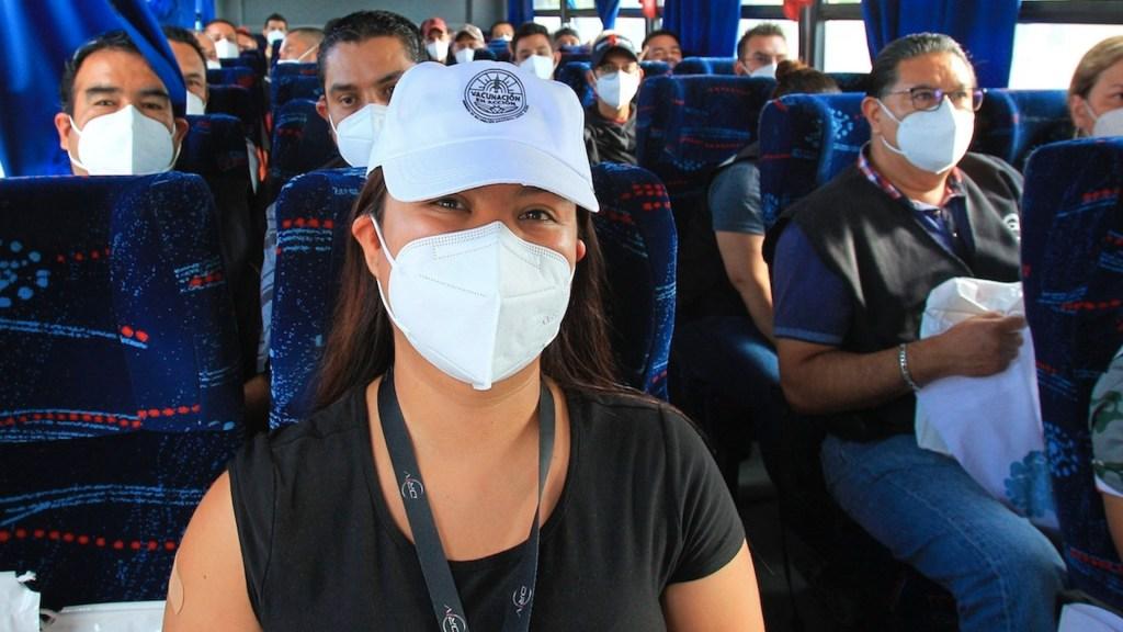 México es el país donde más personas usan cubrebocas tras ser vacunadas contra el COVID-19, según estudio - México es el país donde más personas usan cubrebocas tras ser vacunadas contra el COVID-19. Foto de EFE