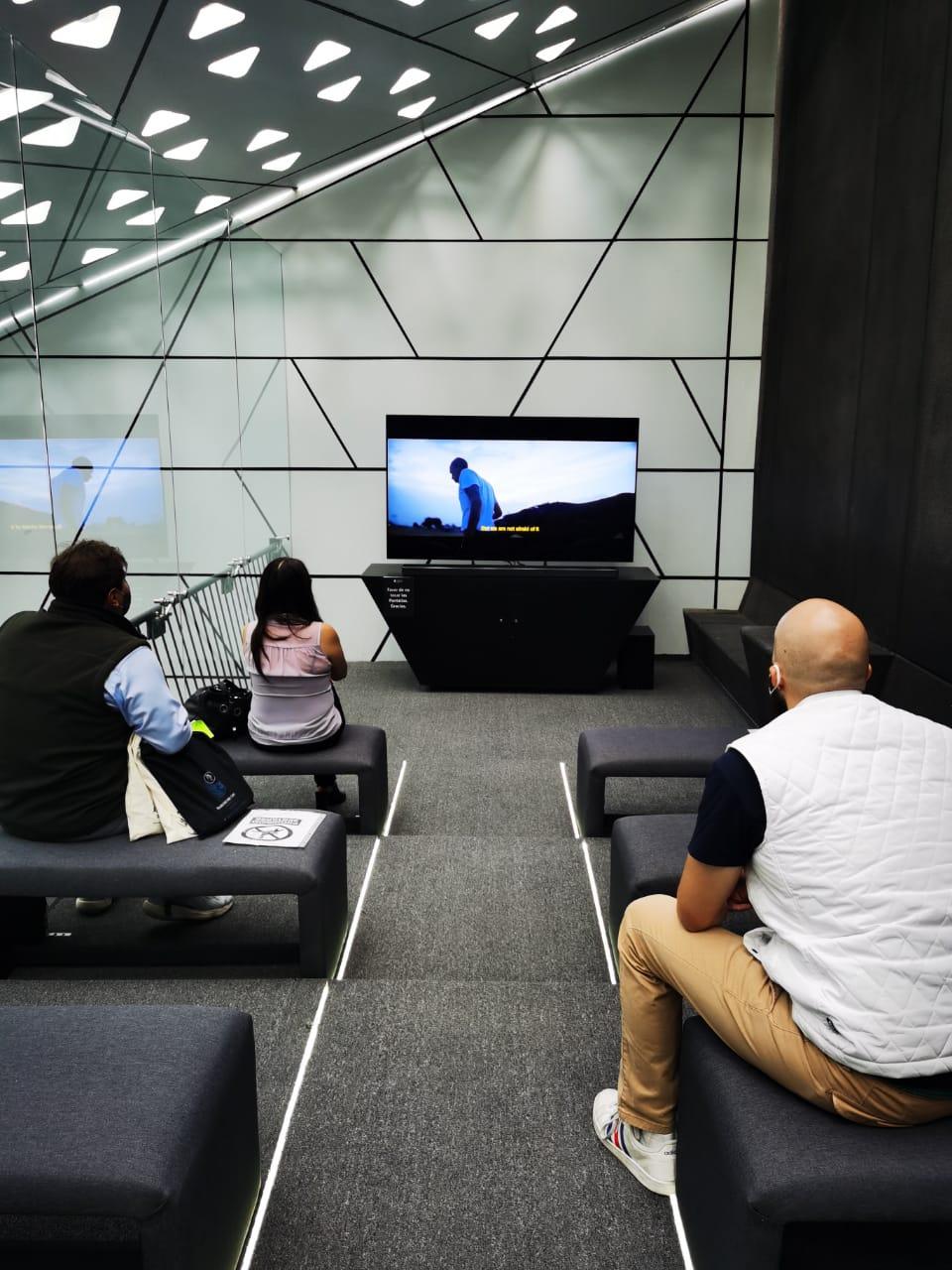 Sala OLED en la Cineteca Nacional.
