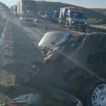 Accidente en la carretera México-Tuxpan deja cinco muertos