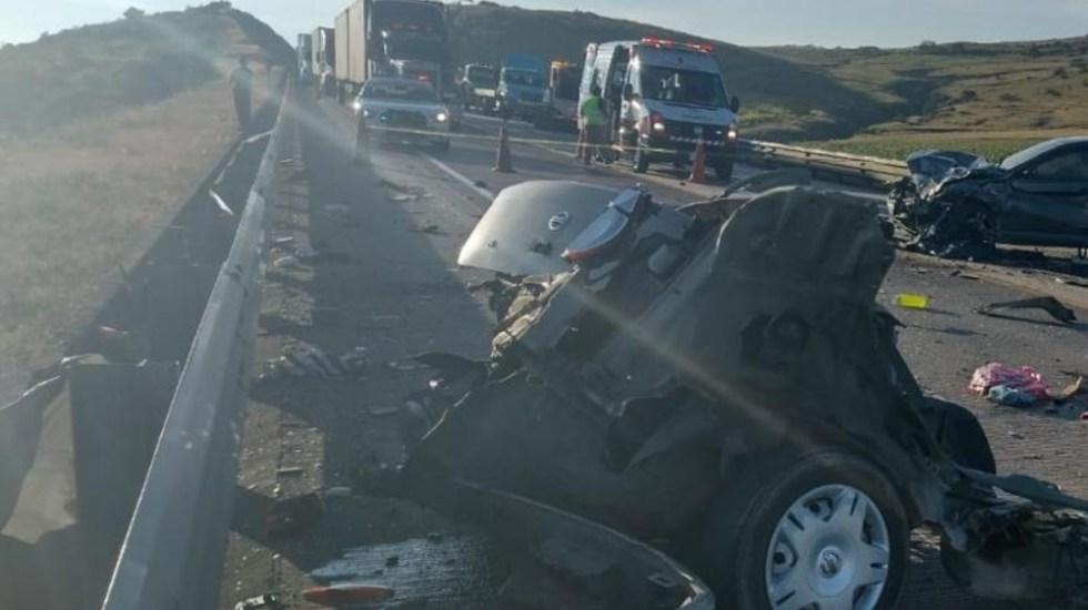 Accidente en la carretera México-Tuxpan deja cinco muertos - Accidente carretera México Tuxpan