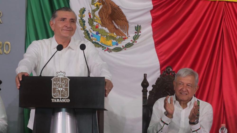 Adán Augusto López no tiene aspiraciones presidenciales para 2024 - Adan Augusto López AMLO López Obrador