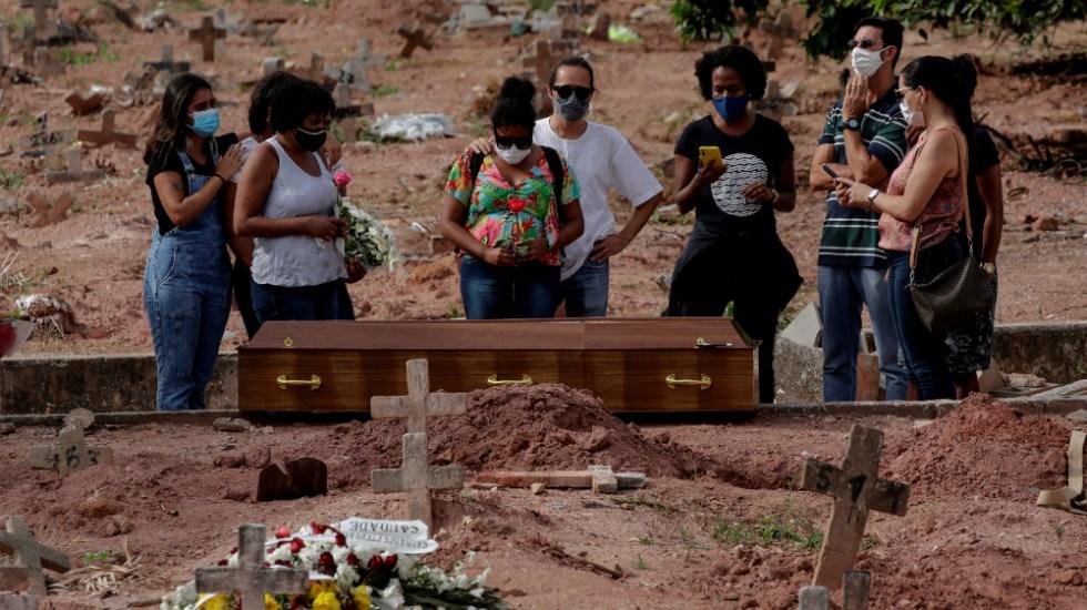 Brasil roza las 580 mil muertes por COVID-19 - Brasil coronavirus covid