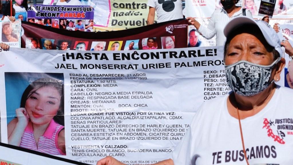 Desapariciones en México no se investigan debidamente, revela WOLA - Desapariciones en México no se investigan debidamente, revela WOLA. Foto de EFE