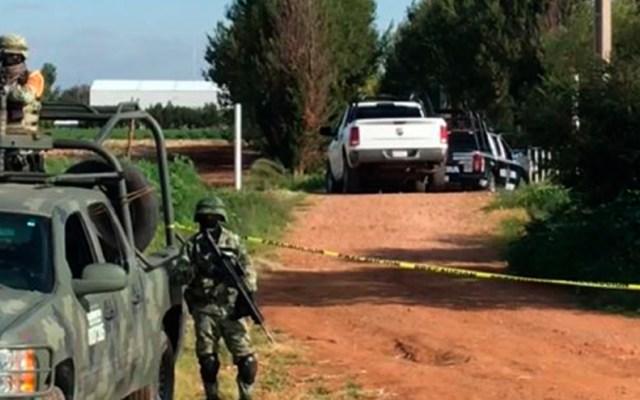 Autoridades hallan siete cuerpos en Calera, Zacatecas - Calera Zacatecas cadáveres