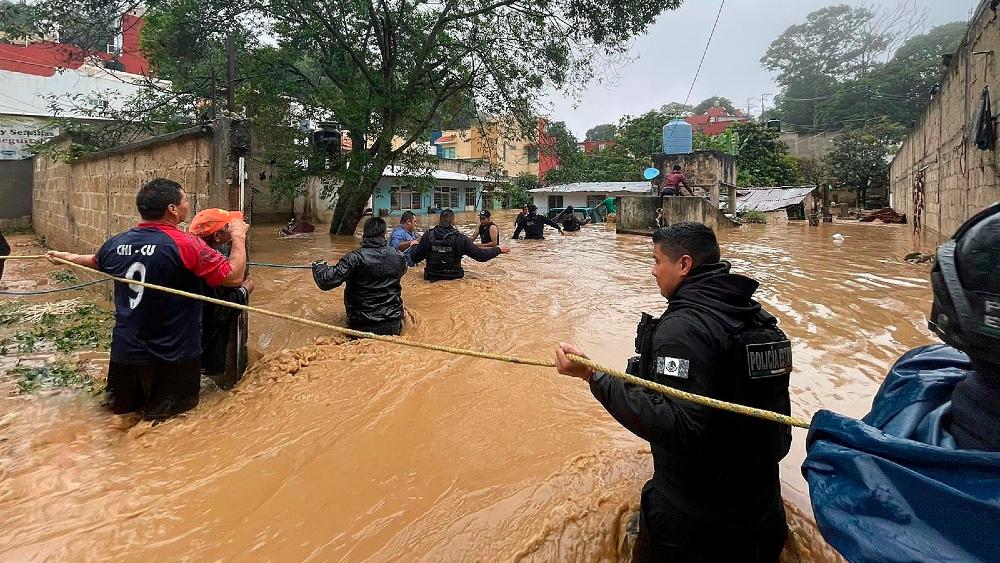 Ciclón Grace Veracruz Xalapa servidores