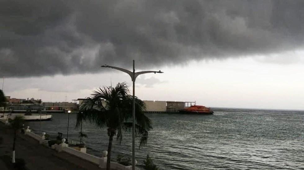 'Grace' tendrá en Golfo de México las condiciones necesarias para fortalecerse, advierte el ingeniero Hernández Unzón - Cozumel ante el impacto del huracán Grace