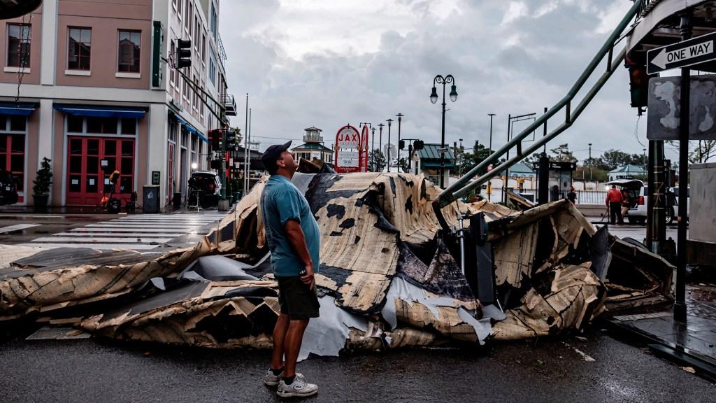 ONU critica que solo 0.5 % de la ayuda para desastres se utilice en prevenirlos - Daños en Nueva Orleans por el paso del huracán Ida