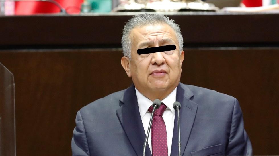 Morena retira derechos partidistas a Saúl Huerta - Diputado Benjamín Saúl Huerta Corona. Foto de Cámara de Diputados