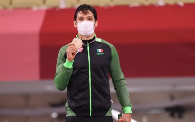 Eduardo Ávila obtiene medalla de bronce en judo en Tokio - Eduardo Ávila obtiene medalla de bronce en judo en Tokio. Foto de Conade