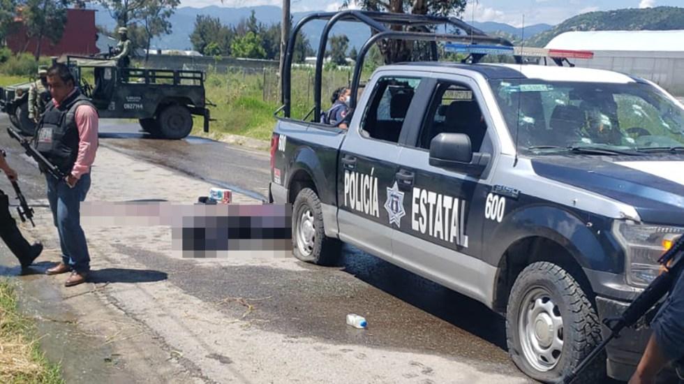 Emboscan en Edomex a alcaldesa de Pilcaya, Guerrero; hay dos policías muertos - Emboscada en Edomex a alcaldesa de Pilcaya, Guerrero