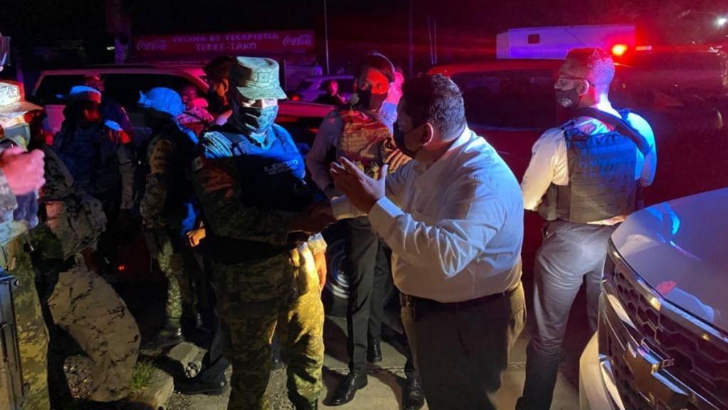 Enfrentamiento en Yautepec, Morelos, termina con cinco detenidos - Enfrentamiento Morelos ataque disparos detenidos Yautepec