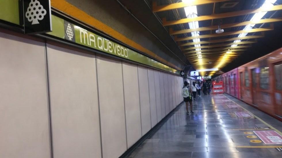 Hombre se suicida en Línea 3 del Metro - Estación Miguel Ángel de Quevedo de la Línea 3 del Metro. Foto de Google Maps / Ingritorrinca Q