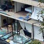 Una persona muerta tras explosión por gas en edificio de Benito Juárez