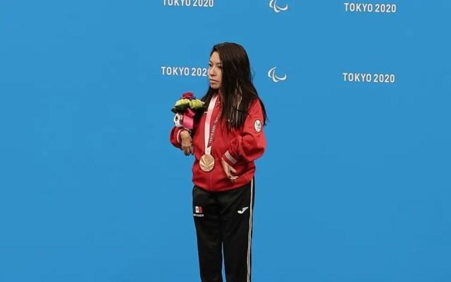 Fabiola Ramírez da a México primera medalla en Juegos Paralímpicos - Fabiola Ramírez obtuvo la medalla de bronce en la final de 100 metros dorso de los Juegos Paralímpicos