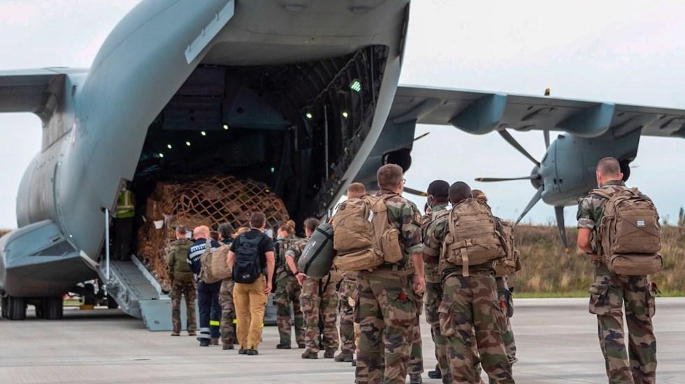 Francia concluye evacuaciones de Afganistán - Francia concluye evacuaciones de Afganistán. Foto de EFE