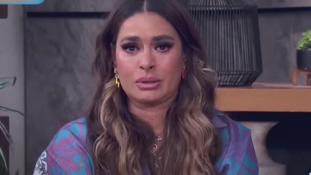 #Video Galilea Montijo confirma la muerte de su padre a causa de COVID-19. Foto tomada de video