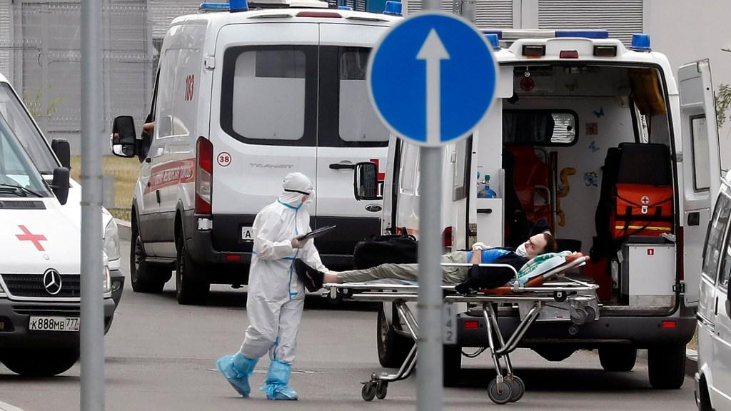 Rusia suma casi 200 mil personas hospitalizadas por COVID-19 - Hospitalización por COVID-19 en Rusia