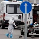 Rusia registra máximos de contagios y muertes por coronavirus en un día - Hospitalización por COVID-19 en Rusia